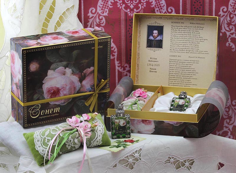 Сюрпризная коробка Сонет