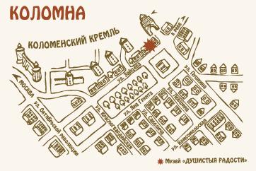 Мы на карте Коломны